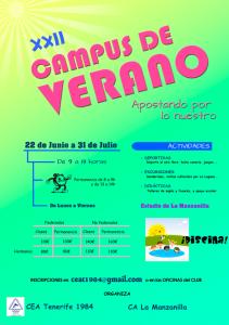 XXII Campus de Verano