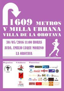 V Milla Urbana Villa de La Orotava