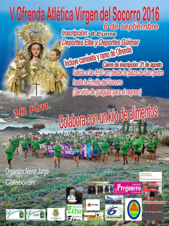 V Ofrenda Atlética a la Virgen del Socorro