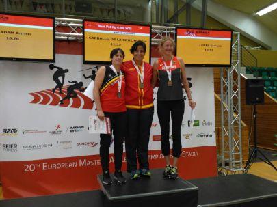 Marta Carballo, campeona de Europa
