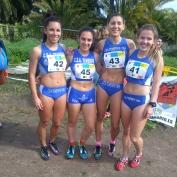 Equipo Cross Absoluto Femenino CEA Tenerife 1984